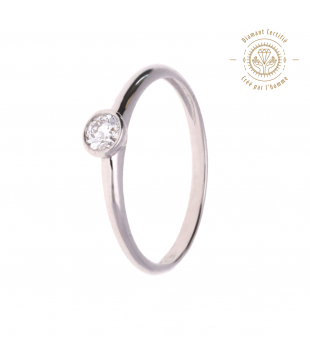 Solitaire Clarissima Or 9kt...