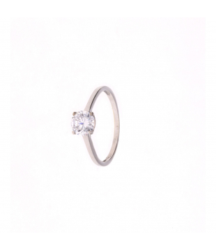 Solitaire Or Blanc 9 carats...