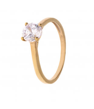 Solitaire Or Jaune 9kt OZS