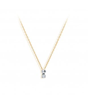 Collier 4 Griffes Or 9kt...