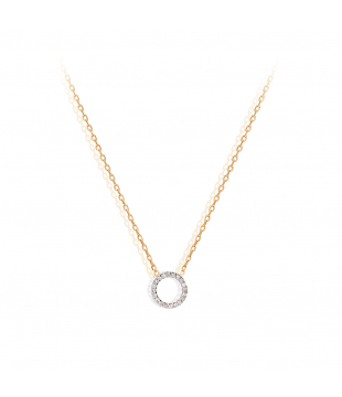 Collier Pavé Or 18kt...