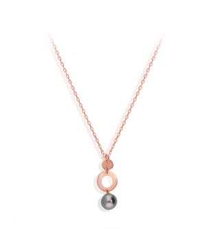 Collier Or Rose 9 carats...