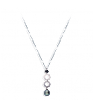 Collier Perle Or 18kt 42cm