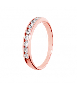 Alliance Or Rose 18 carats...