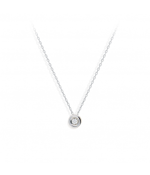 Collier Clos Or 9kt Diamant...