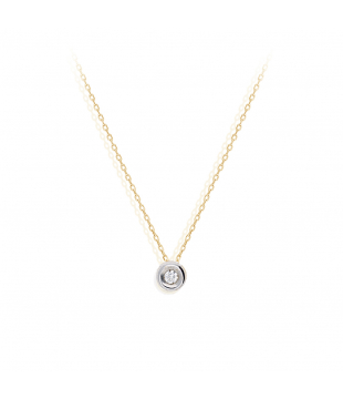 Collier solitaire Diamants...