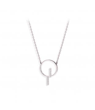 Collier Rond Barre...