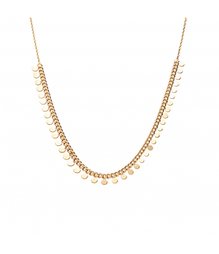 Collier Pampille Rond...