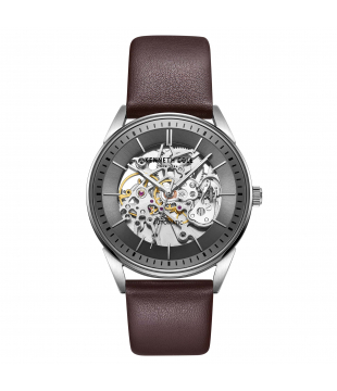 Montre Kenneth Cuir marron...