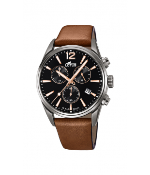 Montre LOTUS Cuir Marron...