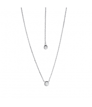 Collier argent Recto-Verso...