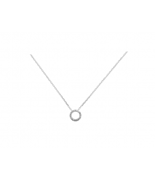 Collier Or Blanc 9 carats...