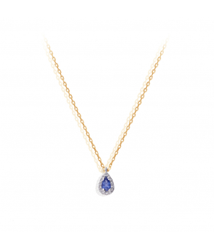 Collier Poire Or Bic 9kt...
