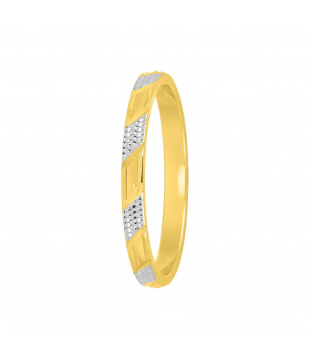Alliance Bicolore Or 18kt 2mm